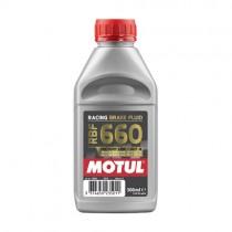 MOTUL OLIO LIQUIDO FRENI RACING RBF 660 DOT 4 - 500 ML