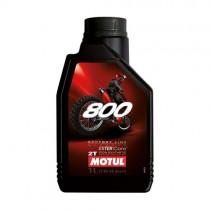 MOTUL OLIO MISCELA 800 OFF ROAD 100% SINTETICO - 1 LT