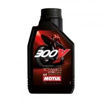 MOTUL OLIO 300V 10W40 STRADA 100% SINTETICO RACING - 1 LT
