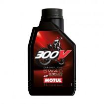 MOTUL OLIO 300V 5W40 OFF ROAD CROSS 100% SINTETICO RACING - 1 LT