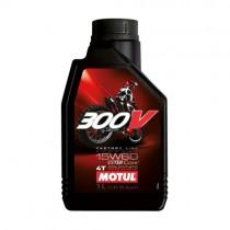 MOTUL OLIO 300V 15W60 OFF ROAD CROSS 100% SINTETICO RACING - 1 LT