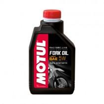 MOTUL OLIO FORCELLE FORK OIL FACTORY LINE 100% SINTETICO - 5W - 1 LT