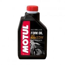 MOTUL OLIO FORCELLE FORK OIL FACTORY LINE 100% SINTETICO - 2.5W - 1 LT