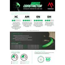 TECHNOMOUSSE MOUSSE GREEN CONSTRICTOR ANTI FORATURA PNEUMATICI 27,5 / 27,5 PLUS