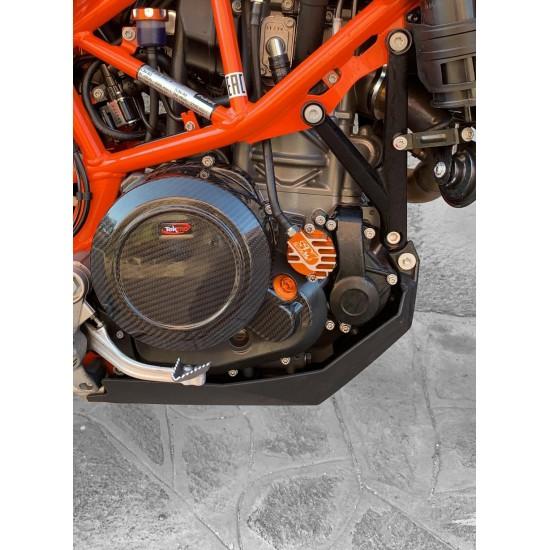 TEKMO PROTEZIONE CARTER FRIZIONE CARBONIO KTM 690 ENDURO / DUKE / SMC R
