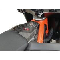 TEKMO COVER CHIAVE CARBONIO KTM 690 SMC R / ENDURO